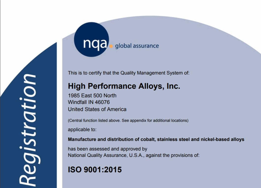ISO 9001 2015 Revision